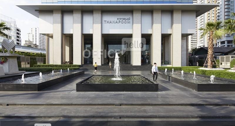 Review สำนักงาน ถนนเพรชบุรี อาคารธนภูมิ ( Thanapoom Building)