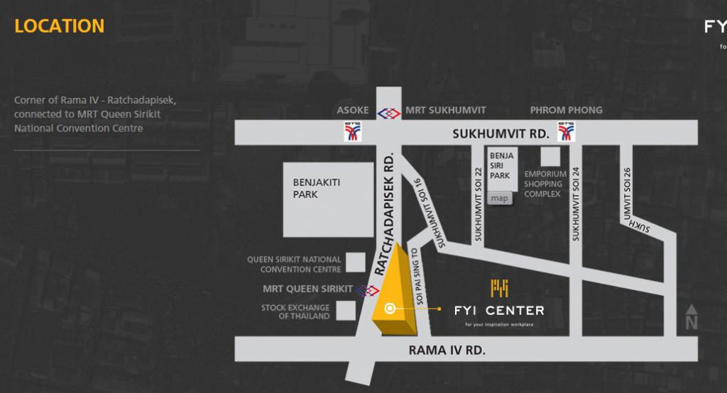 Fyi Centre map