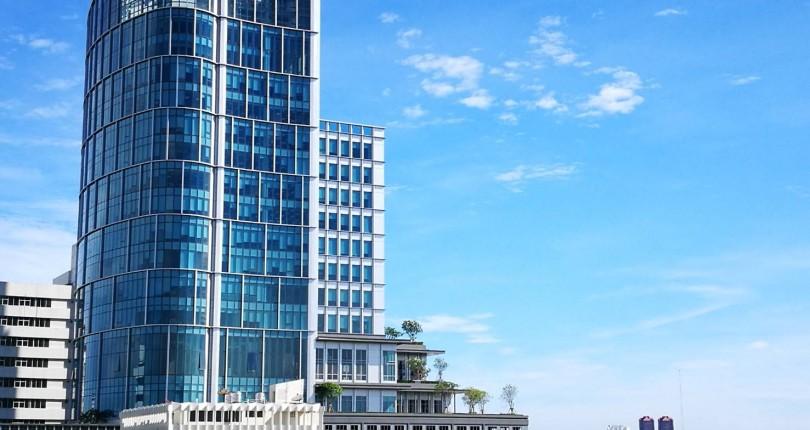 Review : อาคารออฟฟิศ สำนักงาน ย่านบางจาก ตึก เอ็ม ทาวเวอร์ (M tower)
